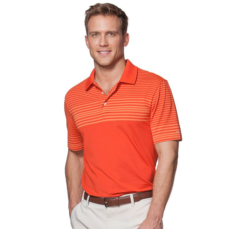 Men's Chaps Chest-Striped Golf Polo