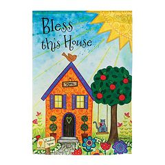'Bless This House' Indoor / Outdoor Garden Flag