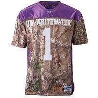 Men's UW-Whitewater Warhawks Game Day Realtree Camo Jersey