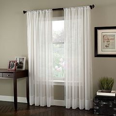 Window Curtainworks 1-Panel Soho Voile Window Curtain