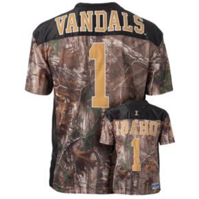 Men's Idaho Vandals Game Day Realtree Camo Jersey
