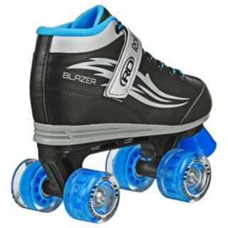 Roller Derby Boys Blazer Lighted Wheel Roller Skates