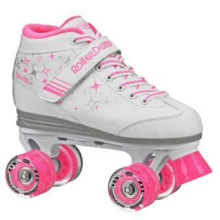 Roller Derby Girls Sparkle Lighted Wheel Roller Skates