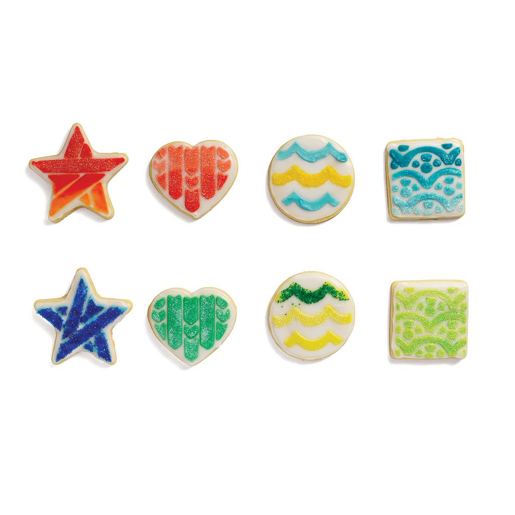 Chef'n Cookease Basic Shapes Cookie Cutter & Stencil Set