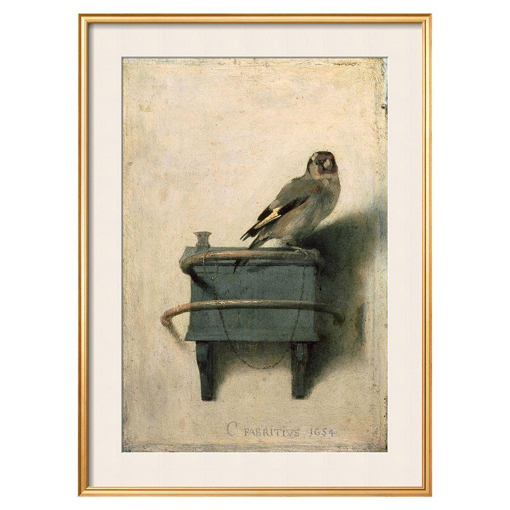 Art.com ''The Goldfinch, 1654'' Framed Wall Art