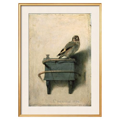 Art.com ''The Goldfinch, 1654'' Framed Wall Art