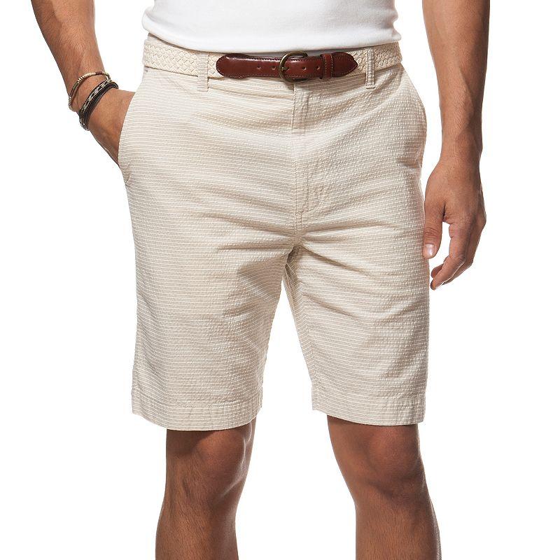 Men's Chaps Classic-Fit Striped Seersucker Shorts