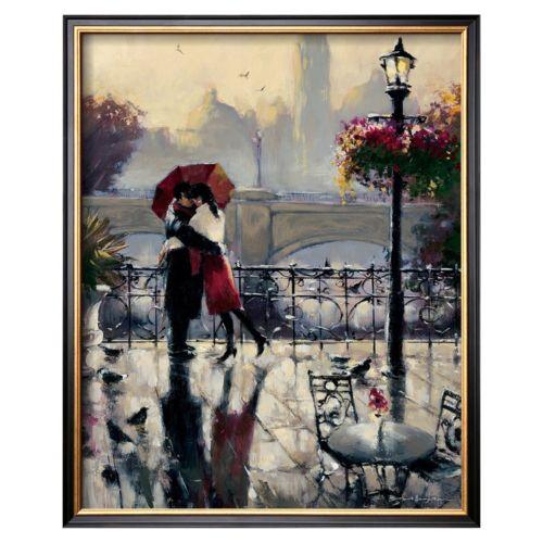 Art.com ''Romantic Embrace'' Framed Wall Art