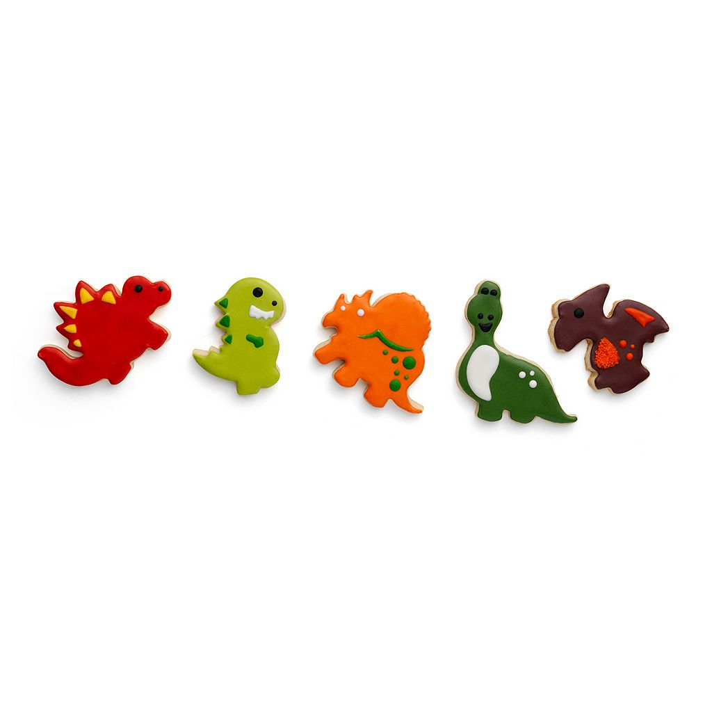 Chef'n Cookease Dinosaur Cookie Cutter & Stencil Set