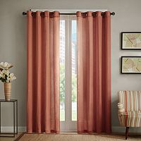 Madison Park Lyndon Linen Blend Window Curtain