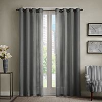 Madison Park Lyndon Linen Blend Curtain