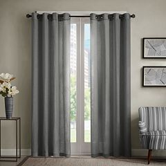 Madison Park Lyndon Linen Blend Window Curtain