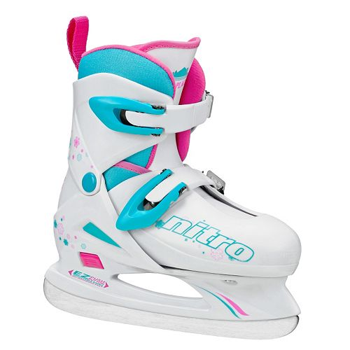 Lake Placid Girls Nitro 8.8 Adjustable Figure Ice Skates