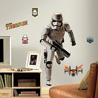 Star Wars: Episode VII The Force Awakens Stormtrooper Giant Peel & Stick Wall Decal