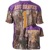 Men's Alcorn State Braves Game Day Realtree Camo Jersey