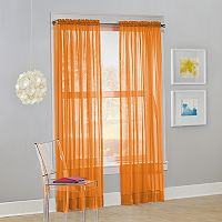 No918 Calypso Sheer Voile Window Curtain