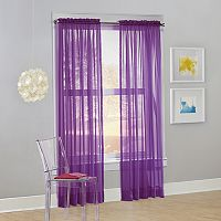 No918 Calypso Sheer Voile Curtain