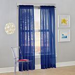 No. 918 1-Panel Calypso Sheer Voile Window Curtain