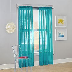 No 918 1-Panel Calypso Sheer Voile Window Curtain