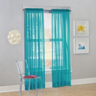No 918 1-Panel Calypso Sheer Voile Window Curtain