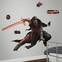 Star Wars: Episode VII The Force Awakens Kylo Ren Glow Giant Peel & Stick Wall Decal