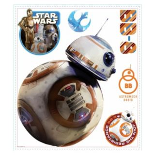Star Wars: Episode VII The Force Awakens BB-8 Peel & Stick Wall Decal