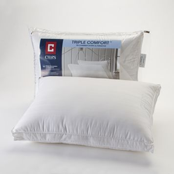 Chaps Home Extra Firm Triple Comfort 400 Thread Comfort Bed Pillow