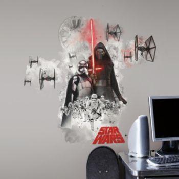 Star Wars: Episode VII The Force Awakens Villains Burst Peel & Stick Giant Wall Decal