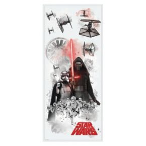 Star Wars: Episode VII The Force Awakens Villains Burst Peel & Stick Giant Wall Decal