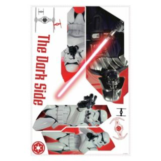 Star Wars Classic Darth Vader & Stormtroopers Peel & Stick Wall Decal