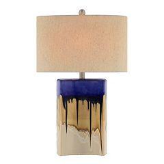 Catalina 3-Way 27'' Multi-Color Ceramic Table Lamp
