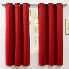 VCNY Blackout 1-Panel Kids McKenzie Window Curtain