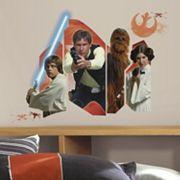 Star Wars Classic Burst Peel & Stick Wall Decal