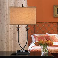 Catalina 31.5'' Linen & Metal Table Lamp
