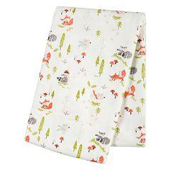 Trend Lab Winter Woods Flannel Swaddle Blanket