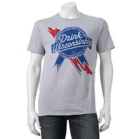 Men's Drink Wisconsinbly Ribbon Tee