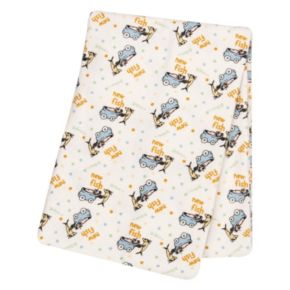 Dr. Seuss One Fish, Two Fish Flannel Swaddle Blanket by Trend Lab