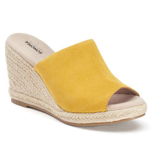 SONOMA Goods for Life™ Women's Jute Espadrille Wedge Sandals