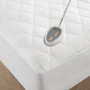 Beautyrest Microfiber Heated Mattress Pad with 3M Scotchgard