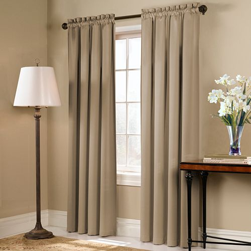 United Curtain Co. Blackstone Blackout Window Curtain