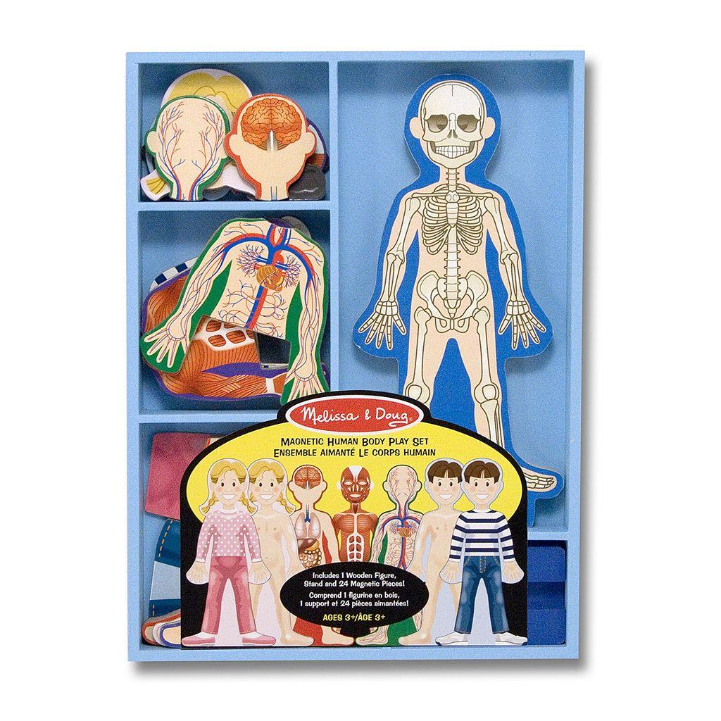 Melissa & Doug Magnetic Human Body Play Set