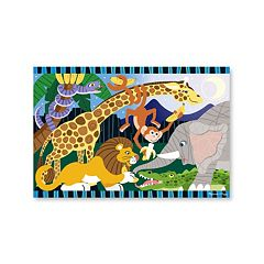 Melissa & Doug 24-pc. Safari Social Floor Puzzle