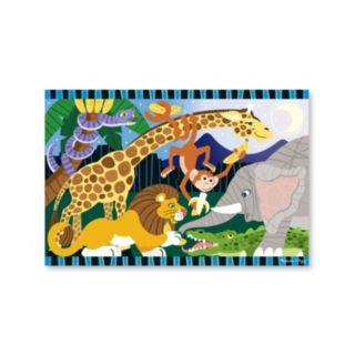 Melissa & Doug 24-pc. Safari Social Floor Puzzle