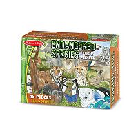 Melissa & Doug 48-pc. Endangered Species Floor Puzzle