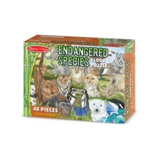 Melissa & Doug 48-pc. Endangered Species Floor Puzzle
