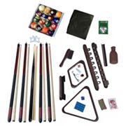 Hathaway Deluxe Billiards Mahogany Finish Accessory Kit