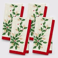 Lenox 4 pc Holiday Napkin Set