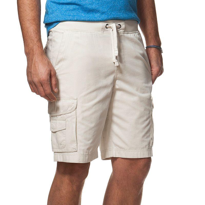 Men's Chaps Classic-Fit Poplin Cargo Shorts