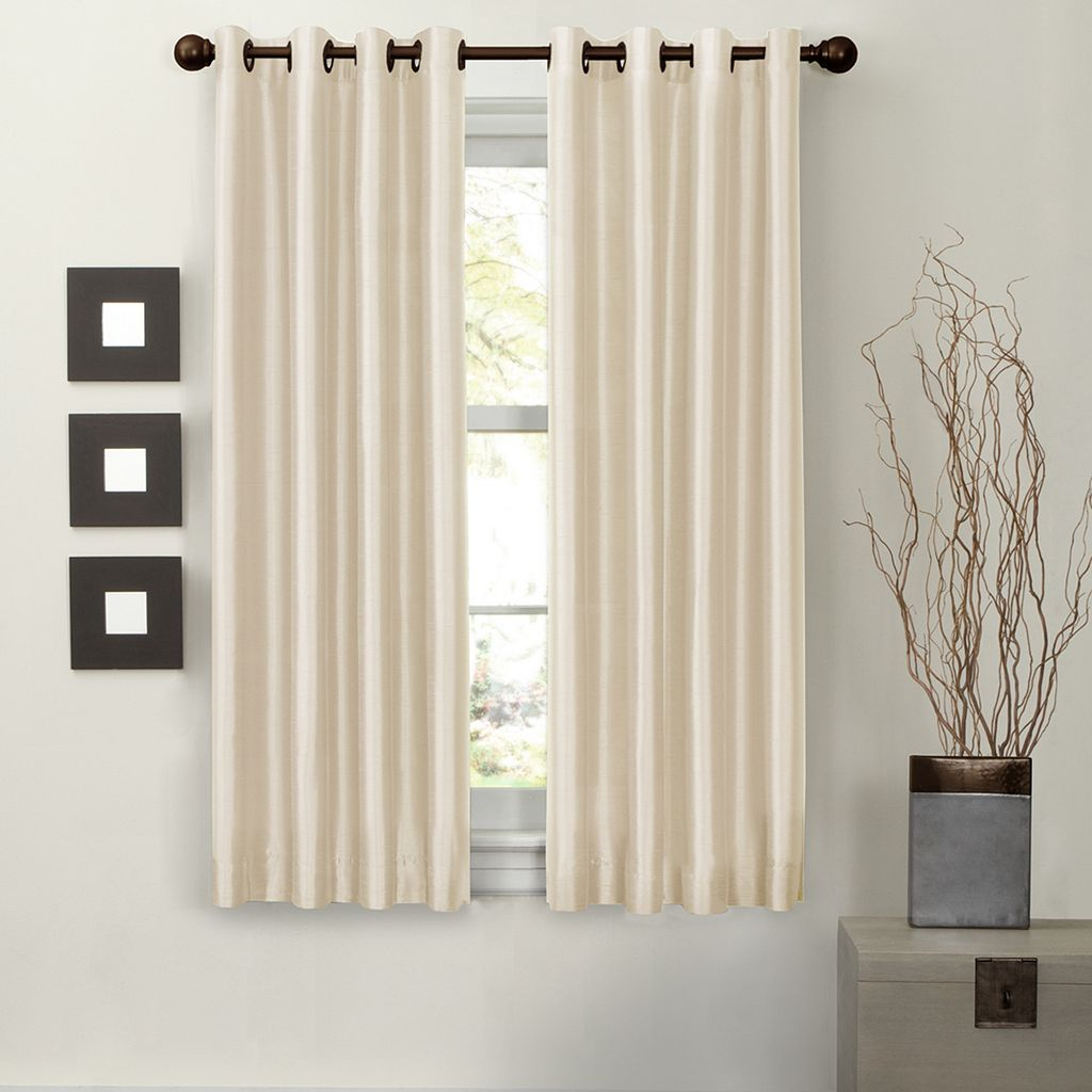 Light to Night Jardin Solid Thermal Window Curtain