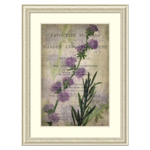 """""""Favorite Flowers I"""" Framed Wall Art"""